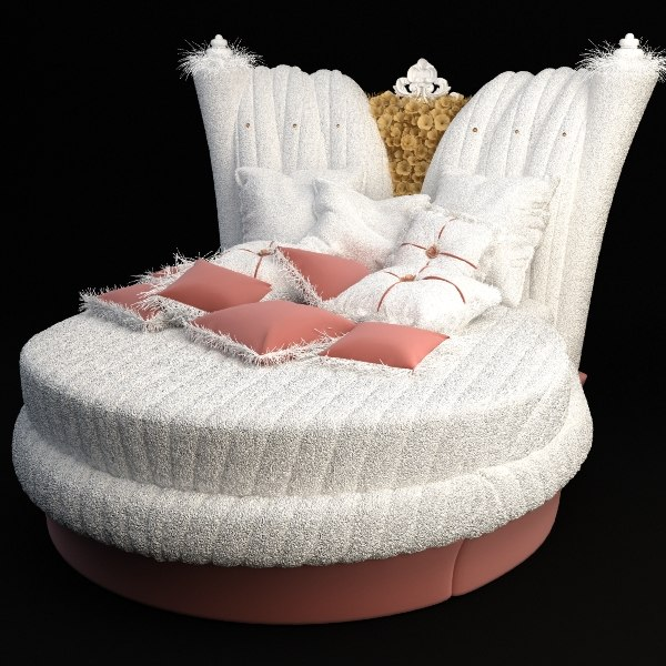 child bed chic 101 3d model