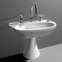 cinema4d bathroom sink