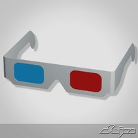 maya anaglyph glasses