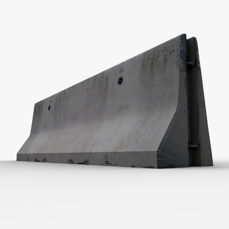 max concrete barrier