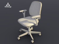 Early Bird Swivel chair with normal height backrest