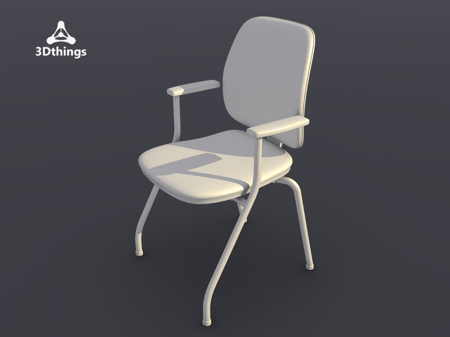 office chair early bird 3d max