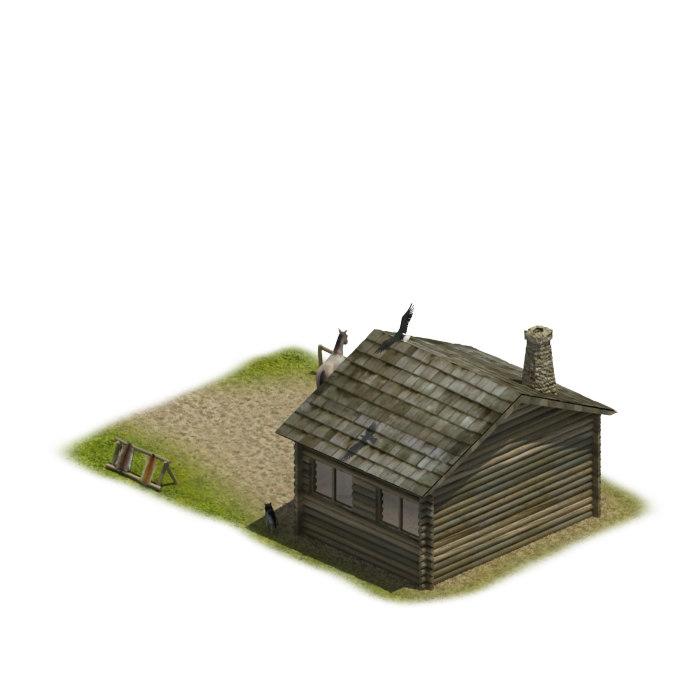 3dsmax game house