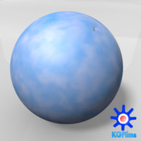 rubber ball 3d obj