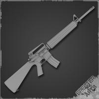 3d m16a2 rifle