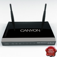 3d wifi router canyon