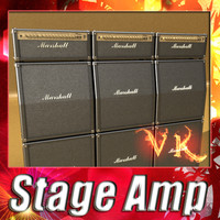 Stage Amps - High Detailed.