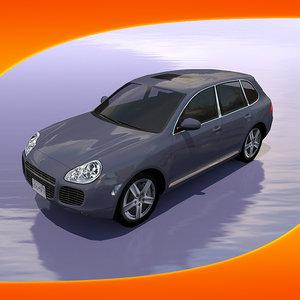 3dsmax porsche cayenne car