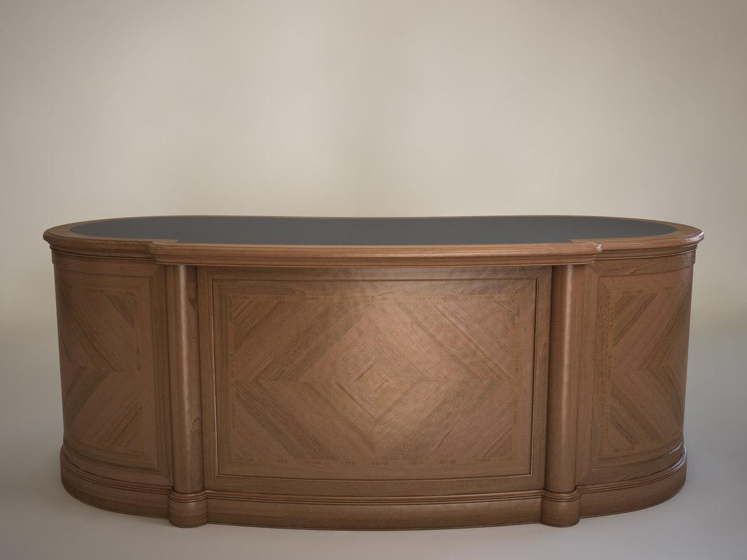 3d desk lord ciliegio
