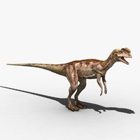 3d dilophosaur dilophosaurus