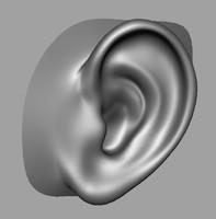 obj ear head