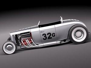 32 1932 race racer 3d 3ds