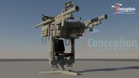 3d igla launcher