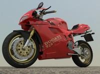 Ducati 916 Iray 3ds max