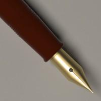 3ds max luxury pen