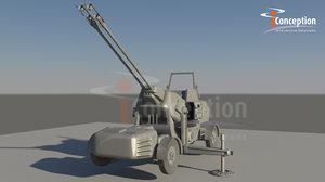 antiaircraft artillery 3d ma