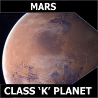 3dsmax mars planet