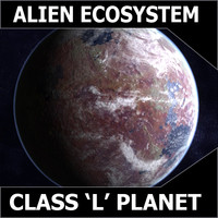 3ds max alien planet earth
