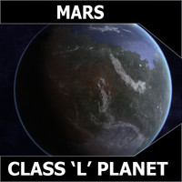 3d l planets mars model