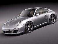 porsche 911 carrera 997 3d model