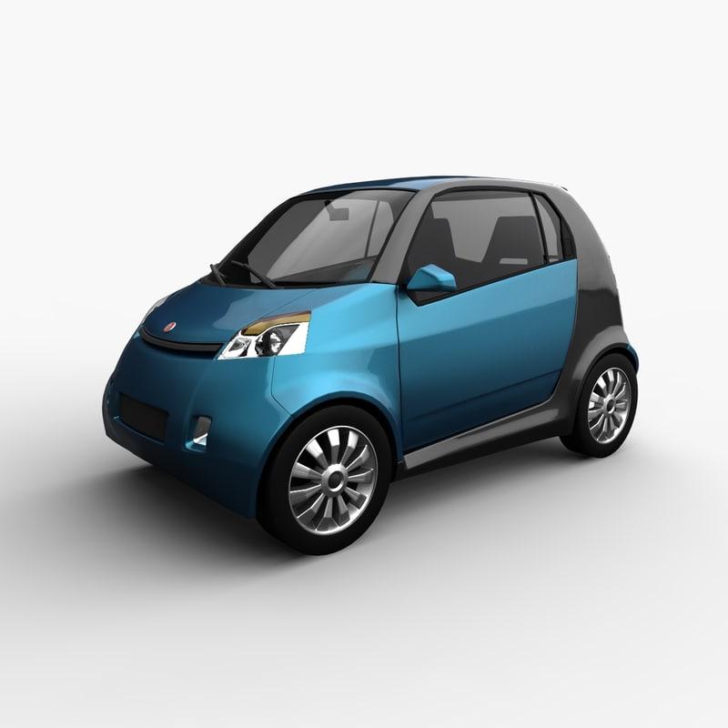 car generic motors hatchback 3d 3ds