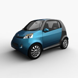 car generic motors hatchback 3d 3ds