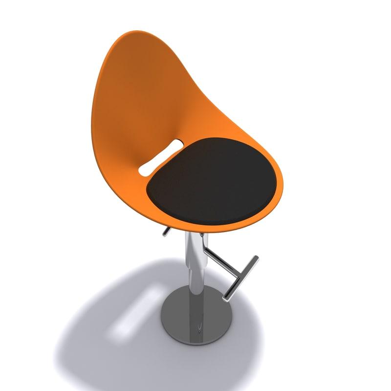 stool danform 3ds