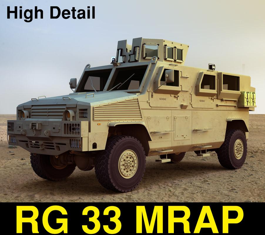 rg 33 military vehicle max