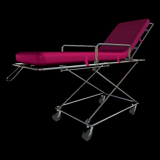 3d medical stretcher gurney model