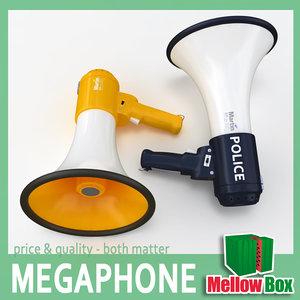 3ds megaphone police