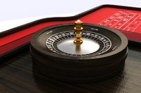 roulette table 3d max