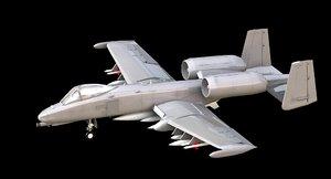 a-10 10 3d model