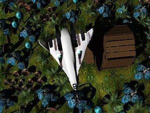 3d model avatar shuttle