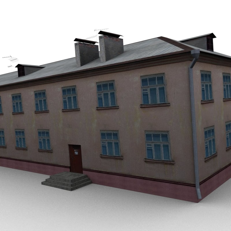 3d house dds normal model