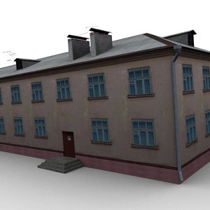 3d house dds normal model