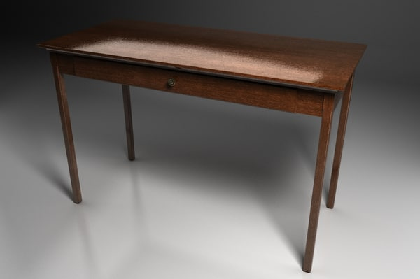 avington desk 3d model