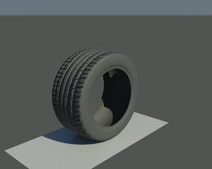 3d tire continental extremecontact dw model