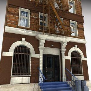 3d max downtown building 6
