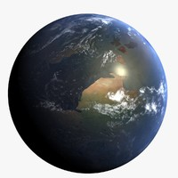 3d cretaceous earth early model