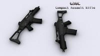 g36c assault rifle 3d max