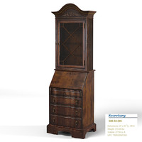 HOOKER secretary 50-50-545 drawers classic traditional luxury antique