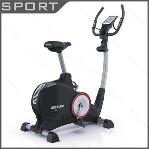 3d model gym bike kettler polo