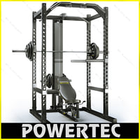Powertec WB-PR10 workbench power rack
