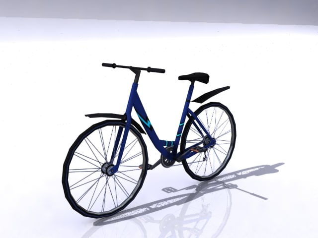 bycicle 3d 3ds