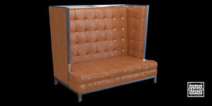 3dsmax lounge sofa