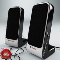 3dsmax usb active speaker