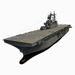 3d model uss wasp lhd-1