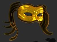 Venetian Carnival Mask 03