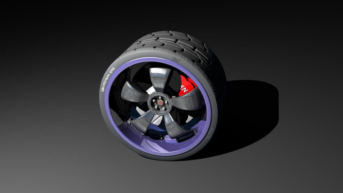 3d wildstreakgsx rim tire