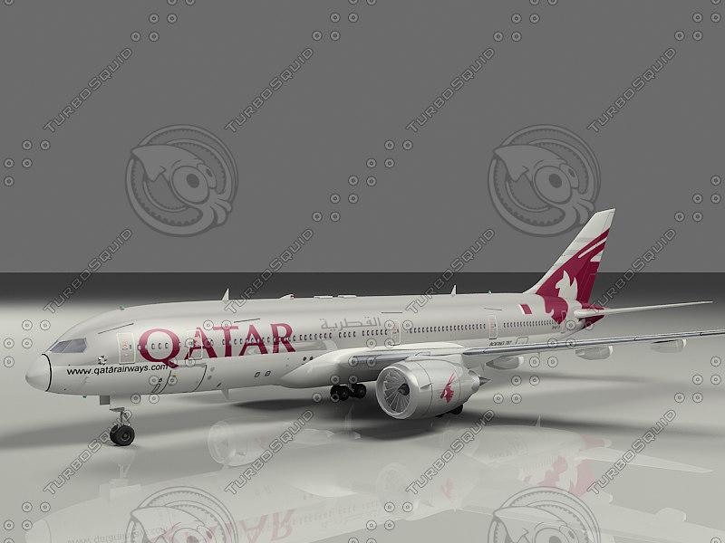 max 787 qatar